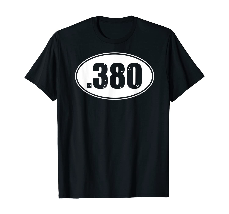 .380 380 Ammo Pistol Shirt, Special .38 Round Tshirt