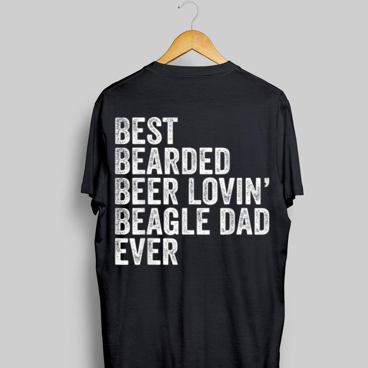 Best Bearded Beer Lovin Beagle Dad Dog Owner Shirt