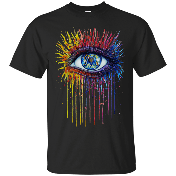 Colorful Eyes Shirt For Miami Marlins Fans T Shirt For Men