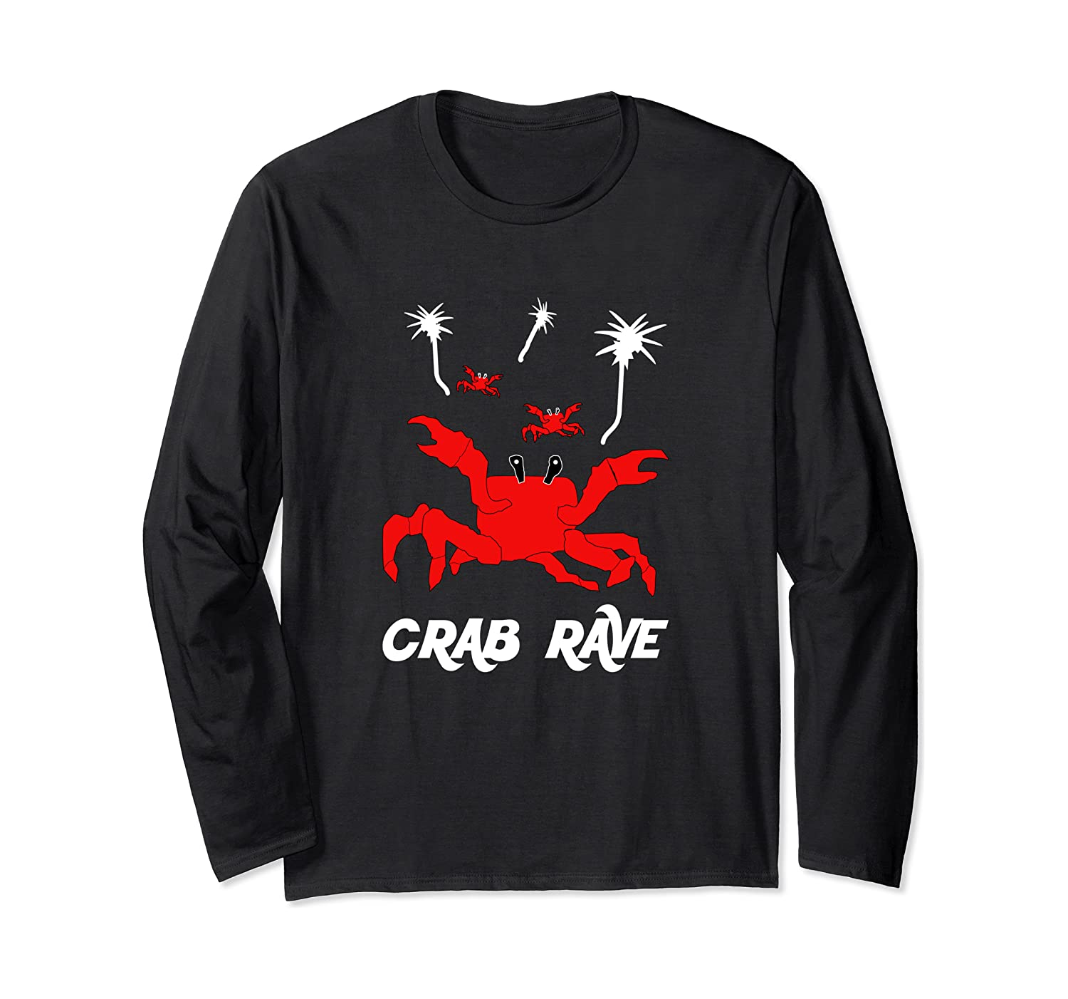 Crab Rave - Meme Crab Dance Party With Palm Trees Long ...
