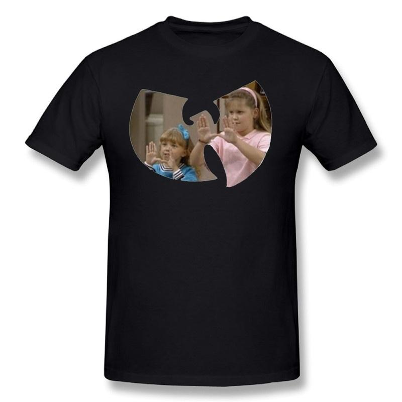 Full Wu Tang House T Shirt T Shirt For Men