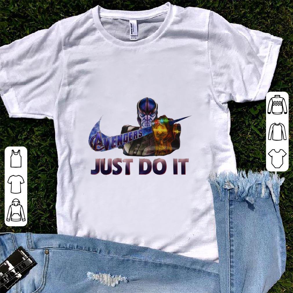 Funny Marvel Thanos Nike Avenger Just Do It Shirt