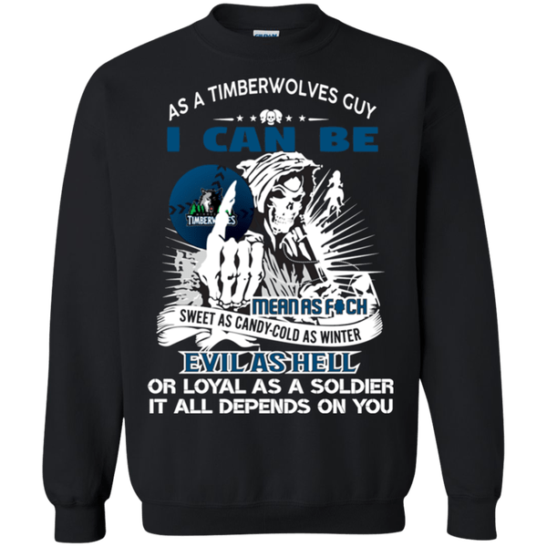Grim Reaper Shirt For Minnesota Timberwolves Fans Halloween Sweatshirt