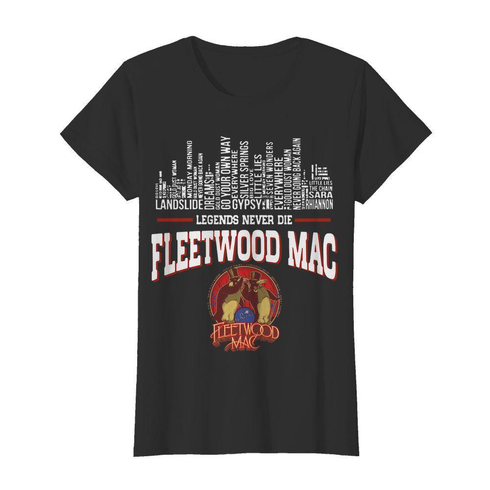 Legends Never Die Fleetwood Mac Classic Women's T-shirt