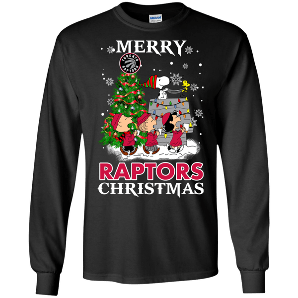 Merry Toronto Raptors Christmas Snoopy Ugly Sweater Style Shirts 11