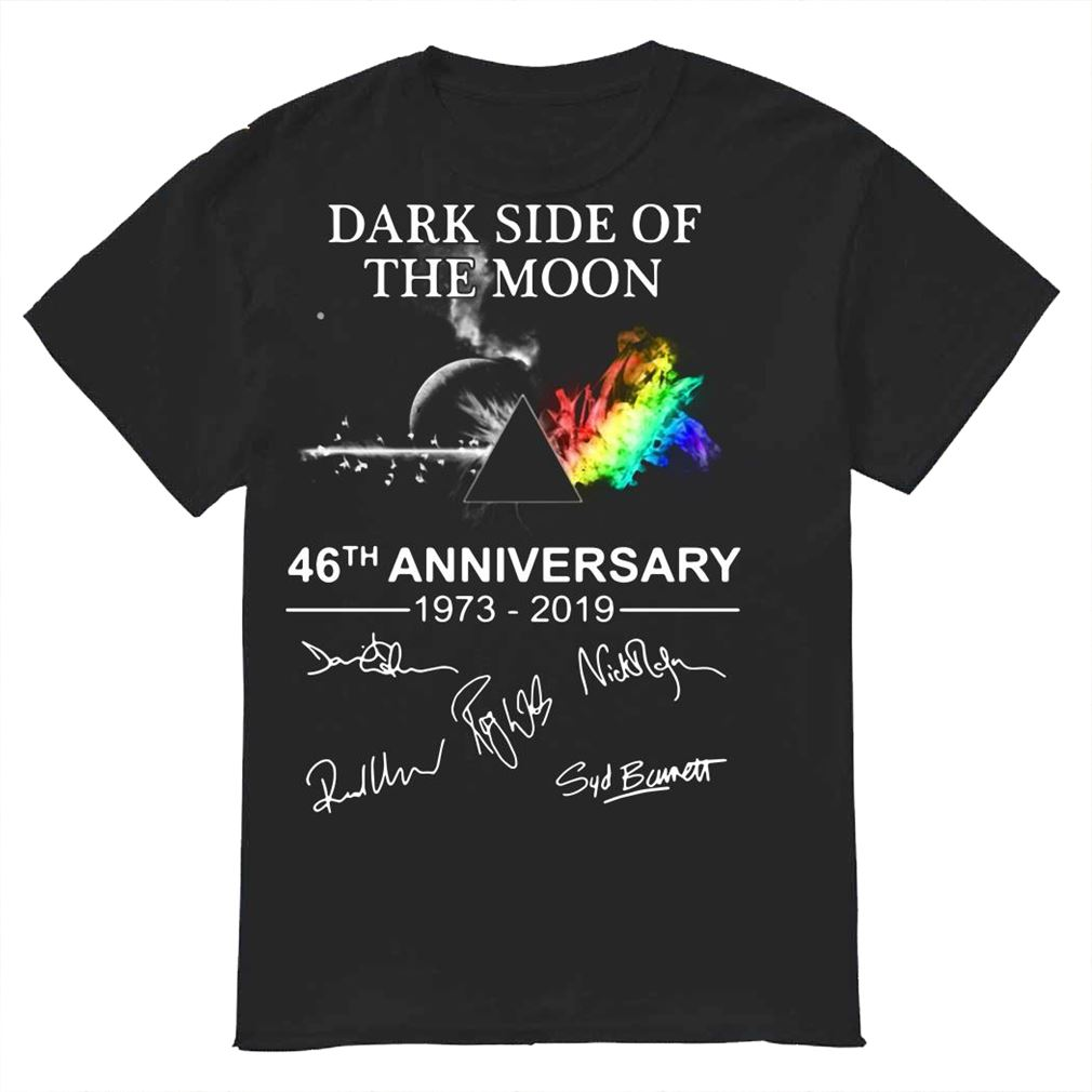Pink Floyd Dark Side Of The Moon 46Th Anniversary 1973 2019 Shirt