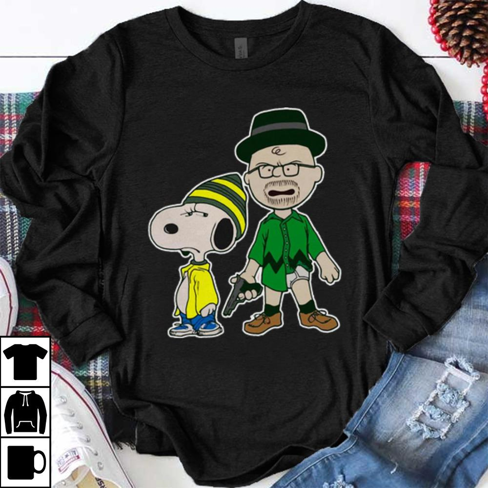 Premium Breaking Nuts Breaking Bad Peanuts Snoopy Charlie Brown Shirt