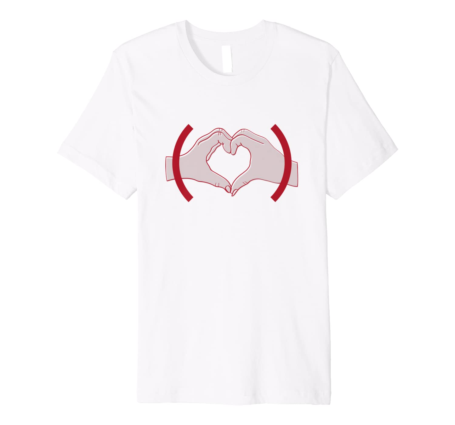 (product)red Heart Hands T-shirt