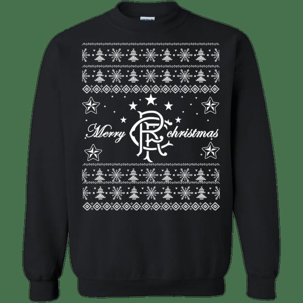 Rangers Fc Ugly Christmas Shirts Merry Christmas