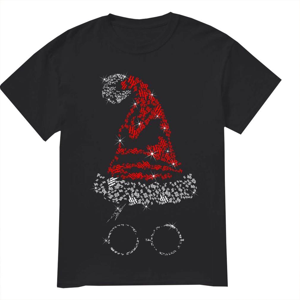 Santa Hat Harry Potter Christmas Shirt