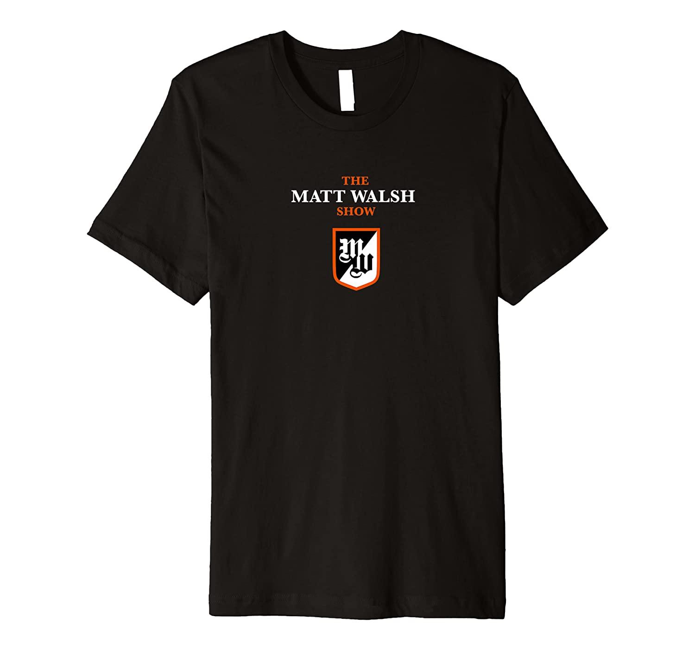 The Matt Walsh Show Logo T-shirt