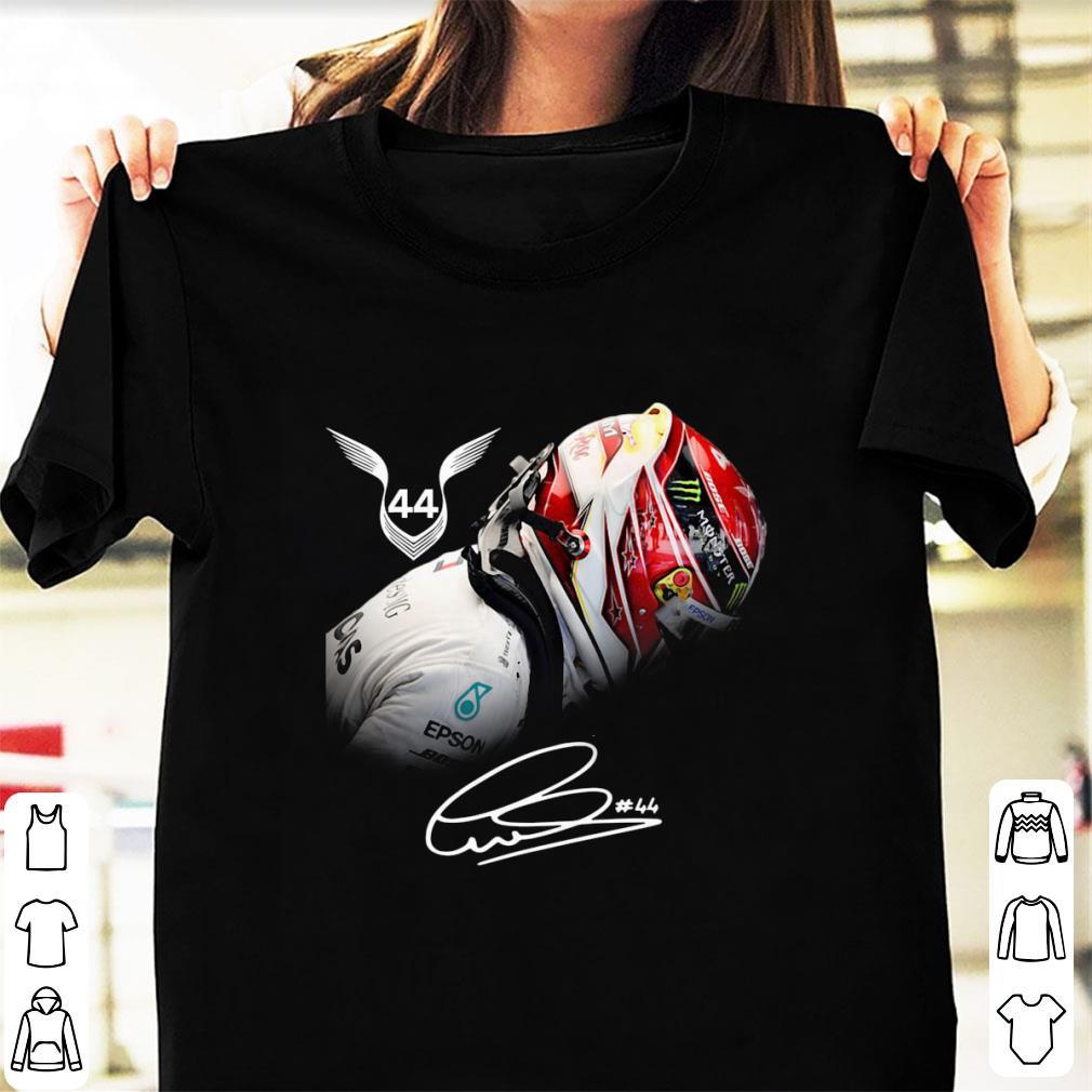 Top Lewis Hamilton 44 Signature Shirt