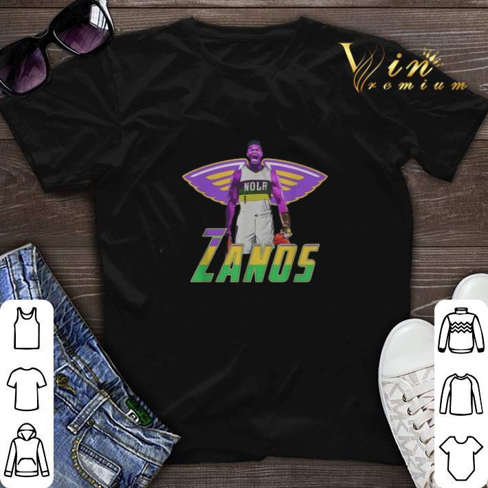 Zanos Nola New Orleans Pelicans Shirt Sweater